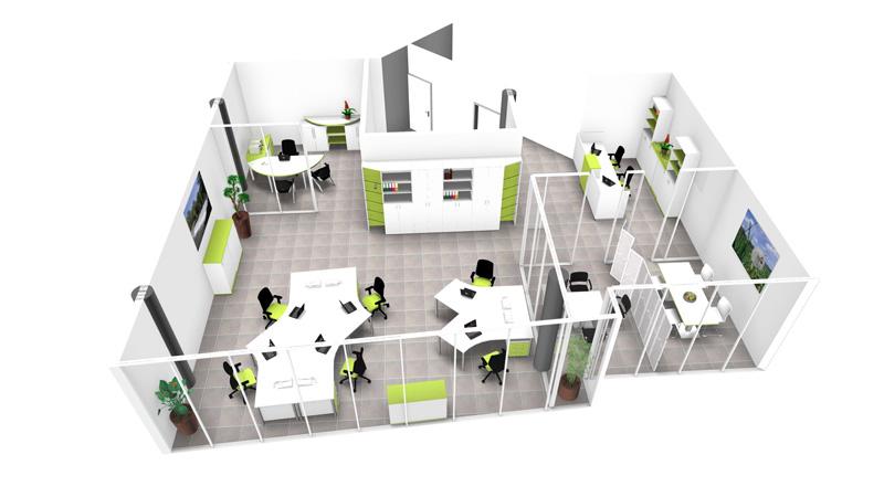 Büroeinrichtung planen  Büroeinrichtung | Penzel